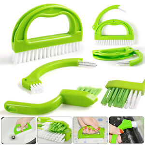 details zu 3 in 1 tile grout cleaning brush joint mould remover narrow stiff stain cleaner