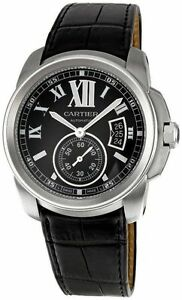 Cartier Calibre W7100041 Wrist Watch for Men   eBay Cartier Calibre W7100041 Wrist Watch for Men
