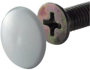details sur lot x20 cache vis plastique blanc pour vis o 3 5 5 mm