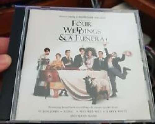 Four Weddings & a Funeral Soundtrack - MUSIC CD- FREE POST ...