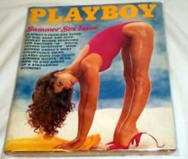 Image Is Loading Playboy July 1980 Playmate Teri Peterson Bruce Jenner