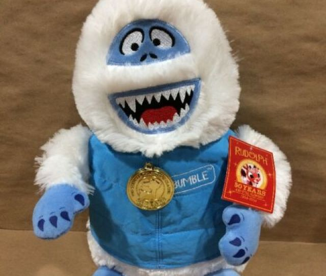 Rudolph The Red Nosed Reindeer Bumble Snowman  Years Plush Dandee