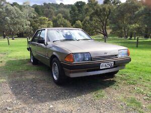 Ford XE Fairmont Ghia 1984 Unmolested Barn Find