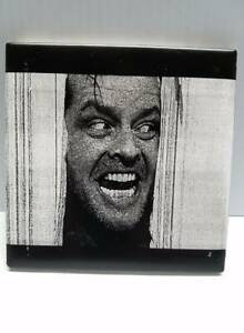details about here s johnny jack nicholson scene from the shining laser engraved ceramic tile
