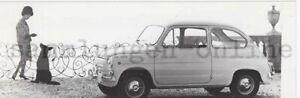 "Fiat Jagst 770 "" Large Small Car "" Automotive Car Photography Press Photo"