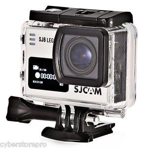 Original SJCAM SJ6 LEGEND 4K WiFi Action Camera Dual Screen Novatek NTK96660 FOV