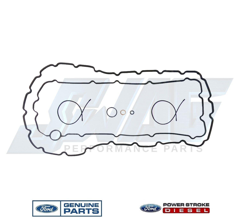 08 10 6 4 Powerstrokesel Genuine Ford Oil Pan Gasket