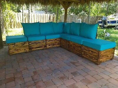 custom made heavy duty solid wood outdoor furniture set ebay