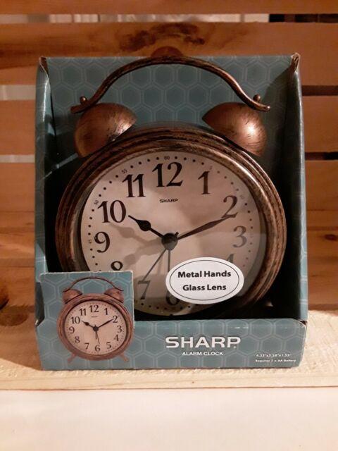 Sharp Vintage Style Alarm Clock For