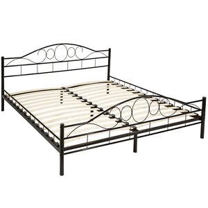 double metal cadre de lit king size luxe