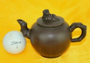Zhou Guizhen Signed Zisha Teapot Purple Clay Chinese Yixing Handmade Decal 周桂珍