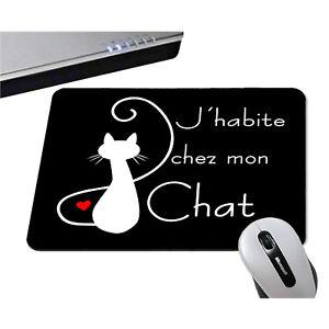 https www ebay fr itm tapis de souris jhabite chez mon chat 10 couleurs dispo humour chaton 262964729924