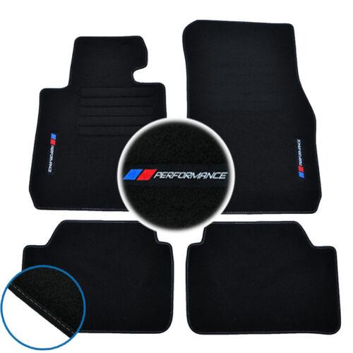 car parts 4 tapis sol bmw serie 1 f20 120d 114d moquette logo performance m specifique guidohof