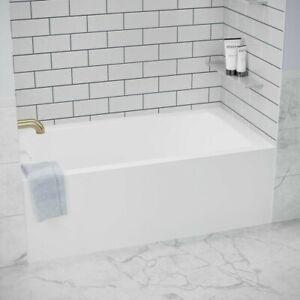 details about daltile arctic white 3 x 6 ceramic modular wall tile 12 5 sqft case