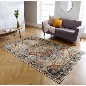 details sur traditionnel style vintage zone tapis vieilli delave design tapis hall coureurs tapis afficher le titre d origine