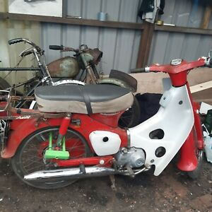 1976 honda c50 all a original start and rides barn find Project