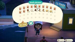 Animal Crossing: NH Furniture: Ironwood, Shell, Mushroom ... on Ironwood Furniture Animal Crossing  id=37092