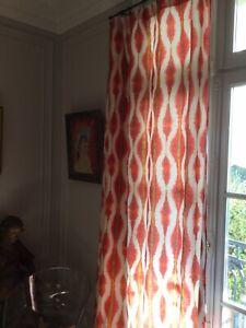 details sur tissu neuf pierre frey coban 100 lin 140 x 240 cms