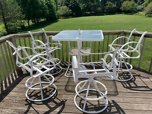 details about halcyon 20 piece outdoor furniture set needs fabric replacement kits