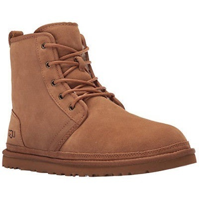 UGG Mens Harkley Winter Boot, Chestnut, 9 M US Sale TAX FREE: shared by www.medianet.info