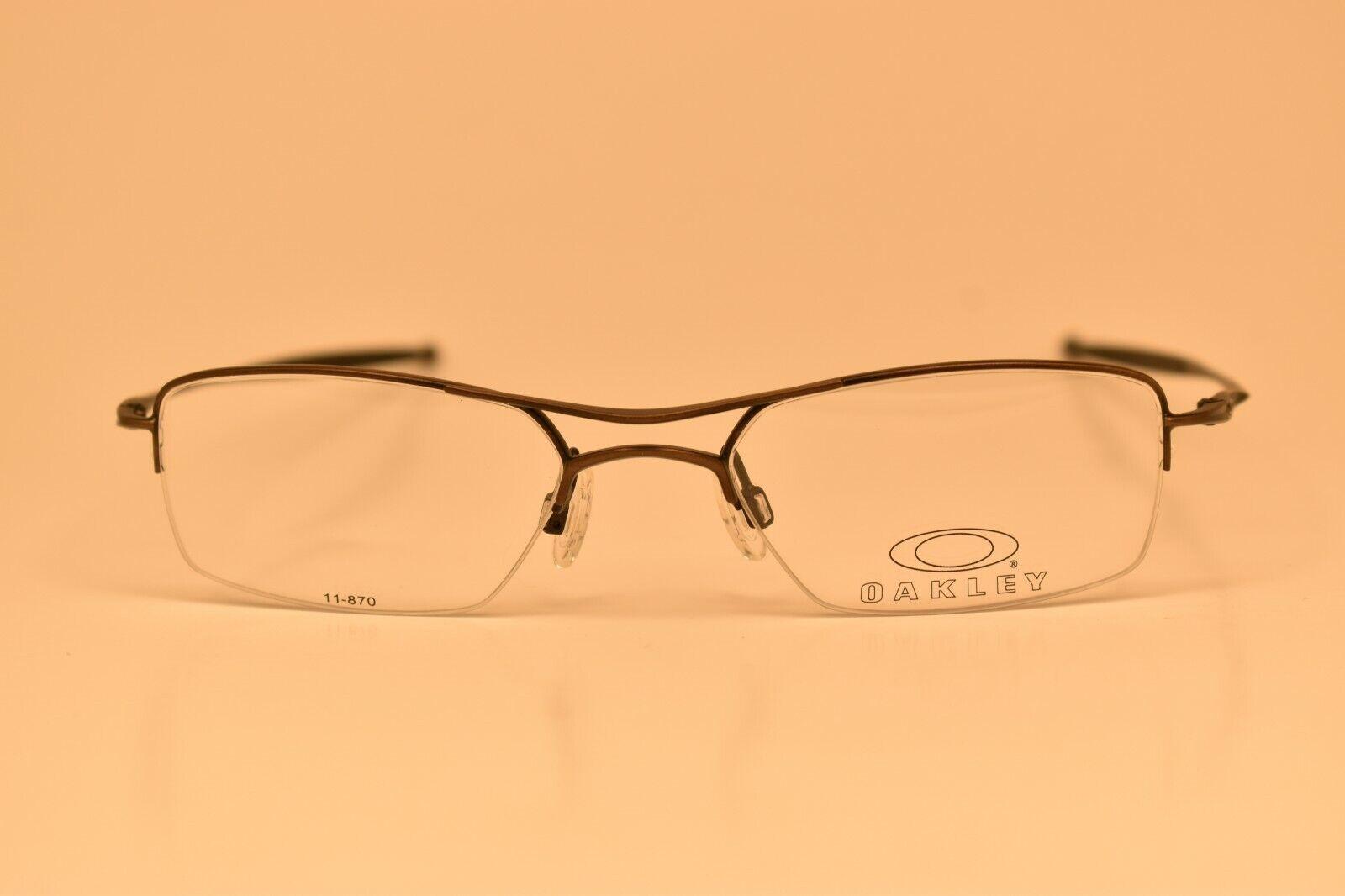 men s oakley gunmetal gray rx prescription eye glasses frames eyeglasses frame