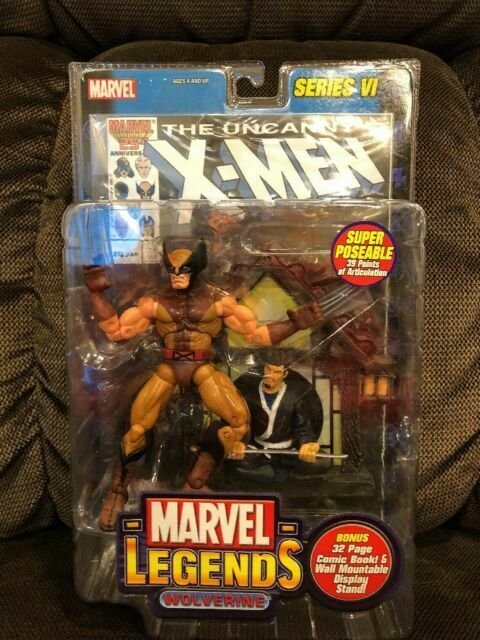 Marvel Legends Series Vi Wolverine 6in Action Figure Toybiz 2004 For Sale Online Ebay