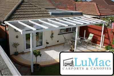 clear as glass canopy garden ideas