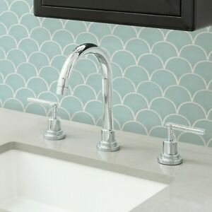 details about wallpops mint shell peel and stick backsplash tiles contemporary seafoam green