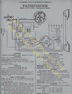 1939 Packard 1701 1702 Strt 8 Car Wiring Diagram Electric