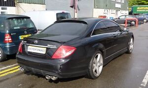 Mercedes C216 W216 CL Roof Window Spoiler CL500 CL550 ...
