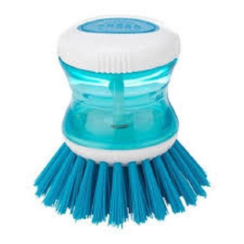 ikea tartsmet lave vaisselle brosse avec distributeur couleur bleue avec boitier en plastique