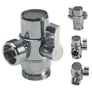 details about kitchen faucet diverter valve adapter bathroom sink to garden hose adapter parts