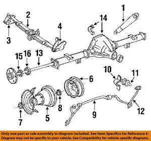 FORD OEM 9297 F350 RearAxle Seals F4TZ1S177C   eBay