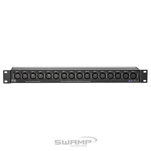 ART P16 - 16-Channel Rack Mount Balanced Patch Bay with XLR Connectors