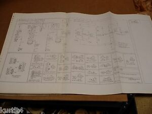 1975 Ford F500 F600 F700 truck wiring diagram schematic