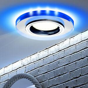 details sur plafond encastrable spot deco led la vie ess chambre eclairage bleu verre lampe
