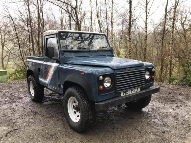 1991 Land Rover Defender 90 (200Tdi) Pickup for Sale --  USA exportable