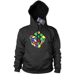 Cubo Rubik Con capucha Juegos Cooper Sheldon 80s Sweater geek jugador Superior Big Bang 394