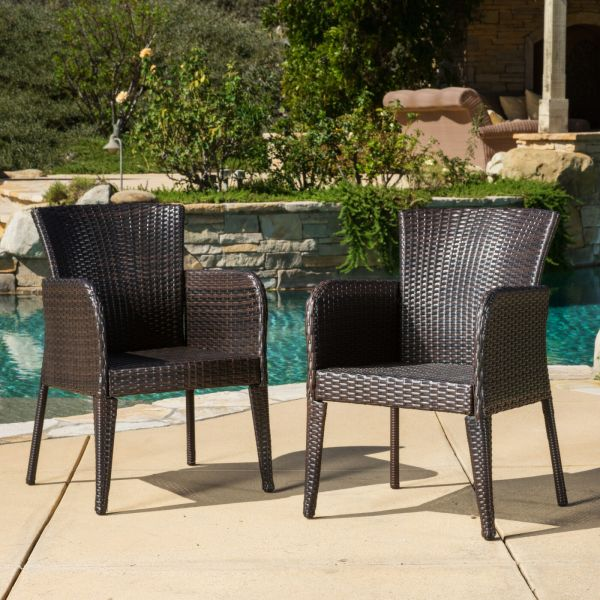 outdoor wicker rattan patio furniture Outdoor Patio Set Modern Rattan Bistro Contemporary Wicker