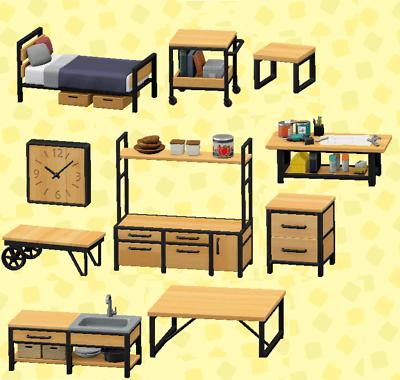 Animal Crossing New Horizons Ironwood 11 DIY Recipe Set ... on Ironwood Animal Crossing  id=63546