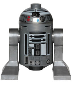 Details About New Lego Star Wars R2 Q2 Minifig Figure Silver Astromech Droid 75218 R2 D2