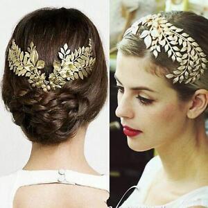 vintage wedding bridal gold hair accessories headband crown b tiara jewelry ebay
