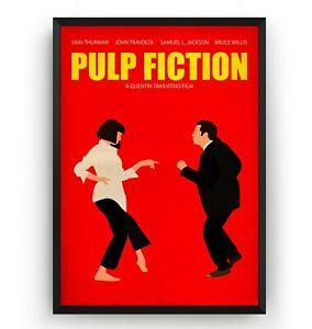 details zu pulp fiction poster wall art print decor tv show movie vintage gift unframed
