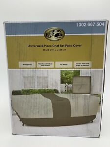 details about hampton bay universal rectangular table and chair patio cover 69 x 114 x 36