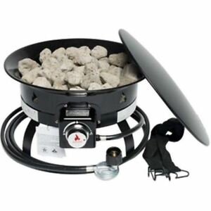 Outland Firebowl 893 Deluxe Outdoor Portable Propane Gas ... on Outland Gas Fire Pit id=68009