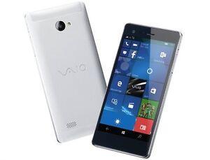 VAIO PHONE BIZ VPB0511S WINDOWS 10 DUAL SIM METAL SMARTPHONE UNLOCKED NEW JAPAN