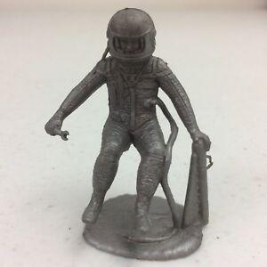 Vtg 1960s Marx Operation Moon Base Silver Astronaut