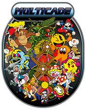 Item 7 Mame Multicade Classics Side Art Arcade Cabinet Graphics Decals Stickers Set