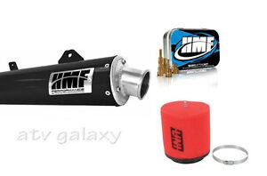 details about hmf black performance slip on exhaust jet kit uni filter honda trx 400ex