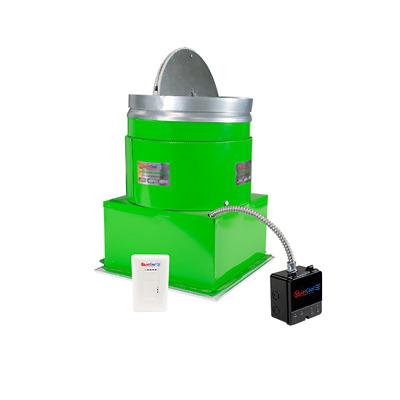 garage exhaust fan quietcool ga es 1500 811658020230 ebay